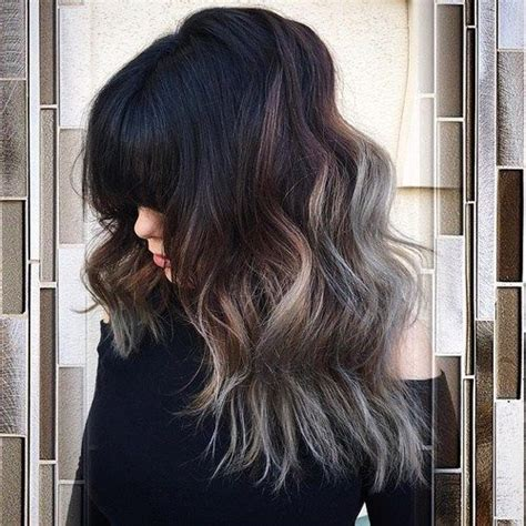 shagy short with silver highlights haistyles 40 glamorous ash blonde and silver ombre hairstyles