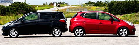 Kia Verso Vergleichstest Toyota Verso S Vs Kia Venga