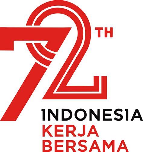 hut indonesia tema dan logo peringatan hut ke 72 kemerdekaan ri 2017