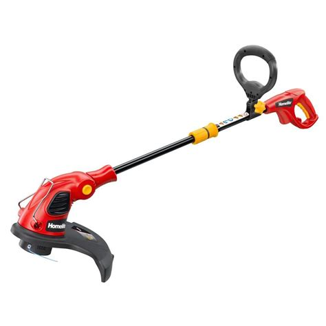 trik sating phesipon pro homelite 14 in 5 amp electric string trimmer ut41121