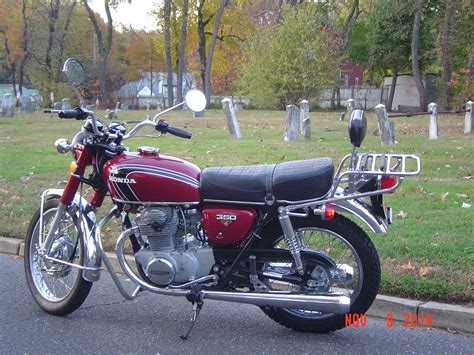 exquisite second my 1973 honda cb350 project electronic ignition 70 sl350