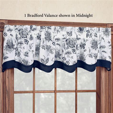 Standard Valance Length winston jacobean floral standard length window treatment