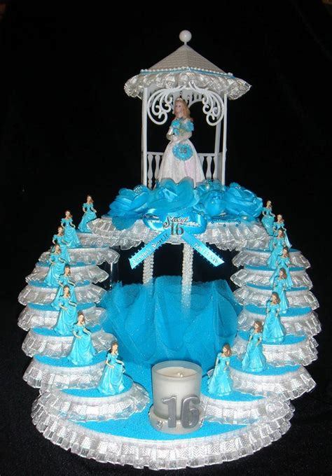 centerpiece caketopper sweet 16 sweet 15