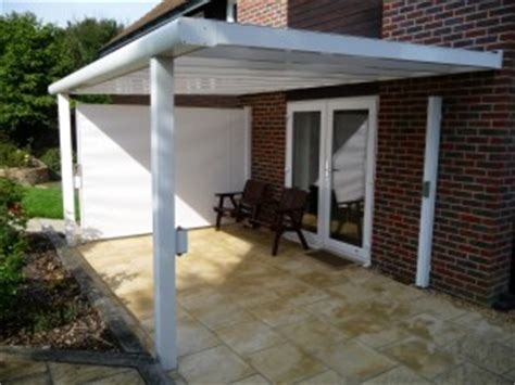 side awnings for patios retractable side screens awning blinds weinor parvento
