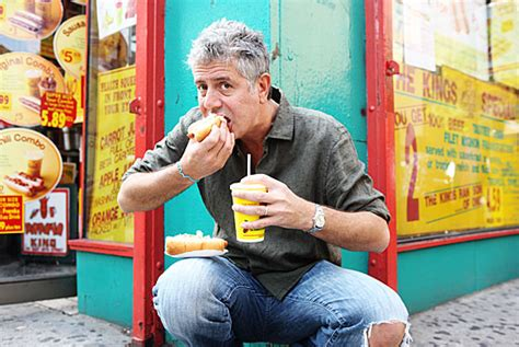 Link From Anthony Bourdain To Food by Anthony Bourdain A Chef Worth Salivating