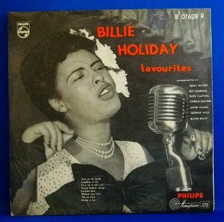 billie holiday swing brother swing billie holiday favorites philips 10inch kind record
