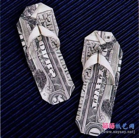 Origami Boot Dollar Bill - 17 beste afbeeldingen money origamii op