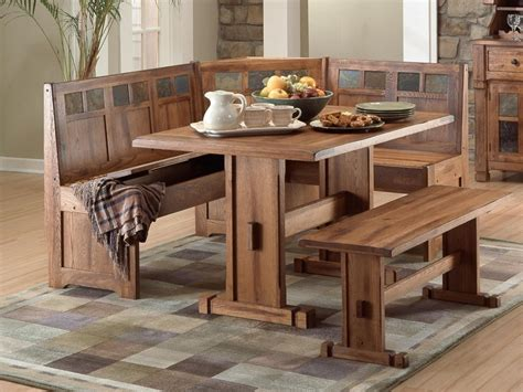 fancy rustic kitchen table with bench rustic kitchen