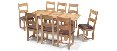 Constance Oak 140 180 Cm Extending Dining Table And 8 Oak Extending Dining Table And 8 Chairs