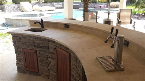 The Evolution Of Outdoor Kitchens Qualified Remodeler Outdoor Kitchen With Kegerator