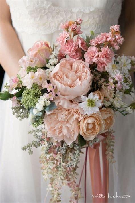 Silk Flower Wedding Bouquet by 25 Best Ideas About Silk Wedding Bouquets On