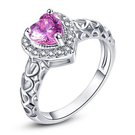 popular pink engagement ring buy cheap pink engagement