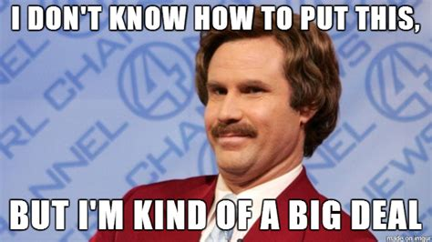 Anchorman Meme - anchorman 2 ron burgundy takes the internet screenblab