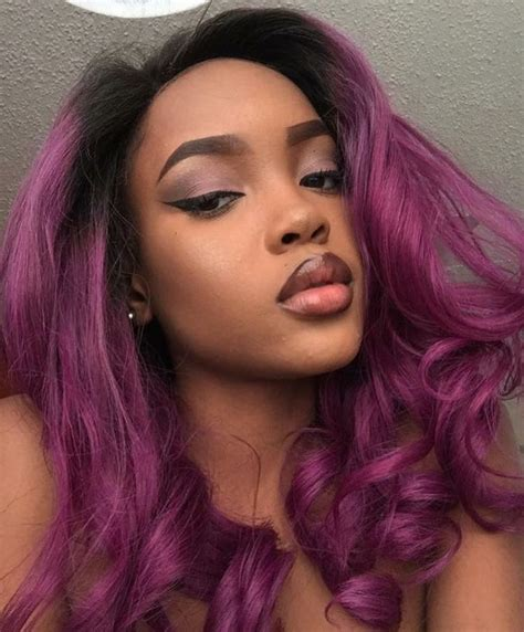 dyed weave hairstyles 25 best ideas about purple weave hair on pinterest plum