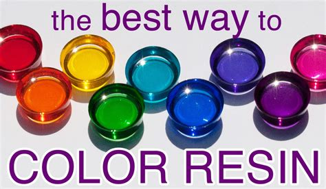 how to color resin resin color that s clean and easy by windows
