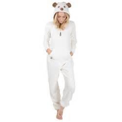 puppy onesies womens puppy animal fleece all in one pjs sleep suit onesie nightwear ebay