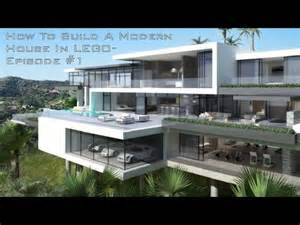 Build Pool House How To Build A Modern House In Lego Episode 1 Youtube