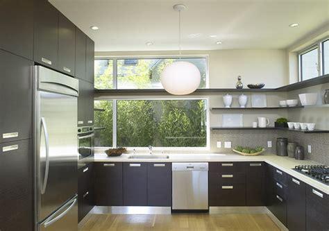 modern kitchen shelving feldman architecture