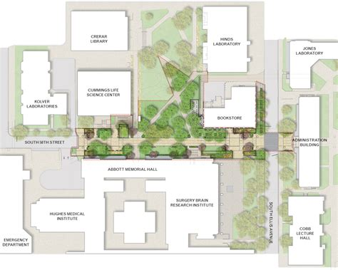 Master Suite Floor Plans The University Of Chicago 58th Street Streetscape Design