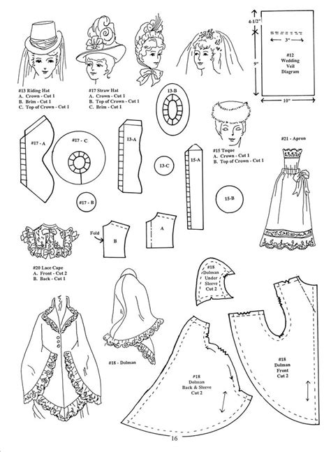 clothes pattern in english 261 best free 18 quot doll patterns images on pinterest
