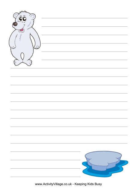 polar writing paper polar writing paper