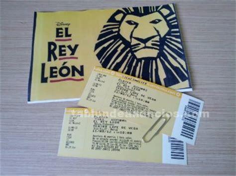 entradas baratas rey leon madrid tabl 211 n de anuncios vendo 2 entradas para el musical rey