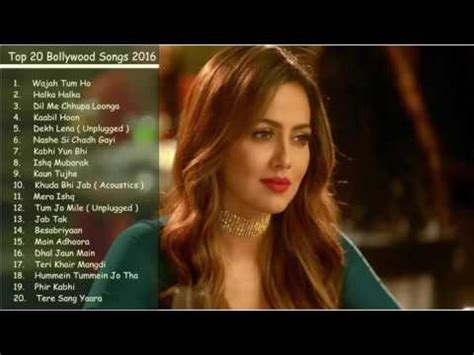 2016 2017 Best & Latest Bollywood Top 20 mp3 Songs
