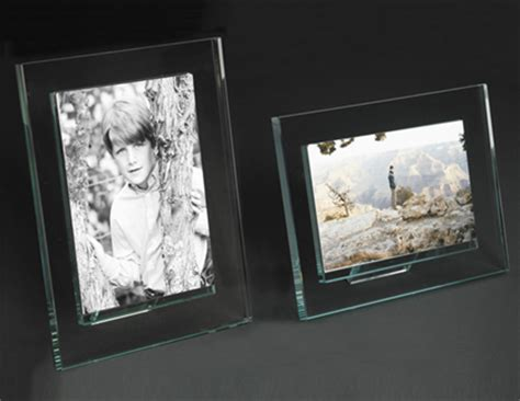 glass cube glass photo frames