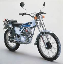 Honda Tl Honda Tl 125 Faq Motorcycles Catalog With Specifications