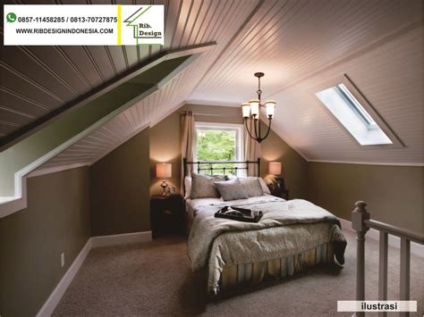 kontraktor rumah menyulap loteng rumah menjadi kamar tidur