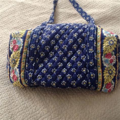 blue pattern vera bradley 47 off vera bradley handbags vera bradley gym bag