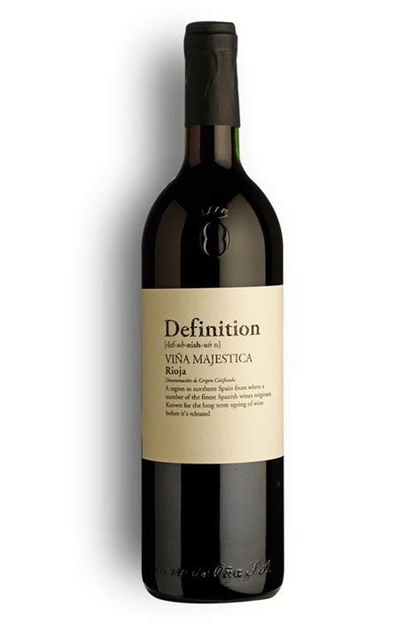 Definition Riesling by Definition Vi 241 A Majestica Rioja Reserva 2009 Wine Of The