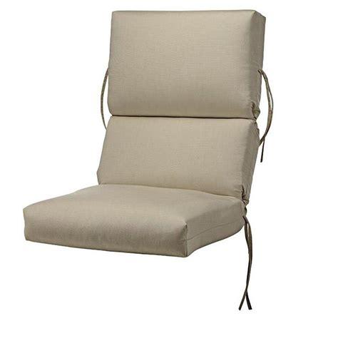 Sunbrella Jockey Red Outdoor Dining Chair Cushion