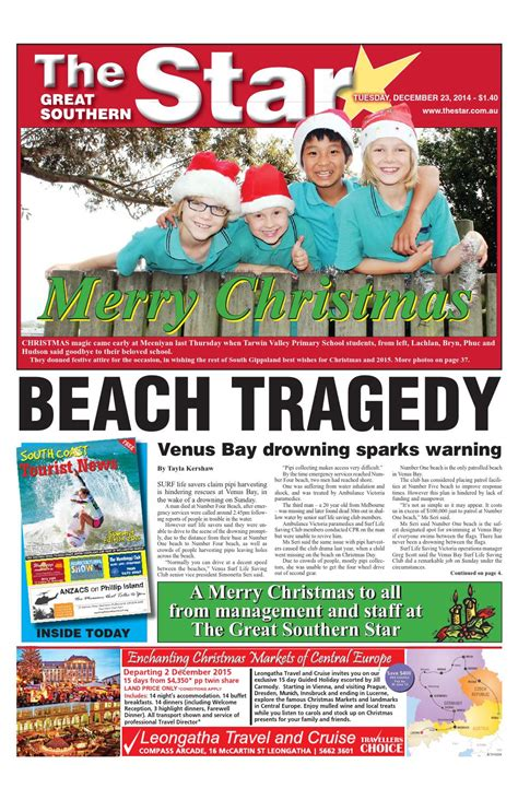 issuu the great southern star april 1 2014 by the the great southern star december 23 2014 by the great