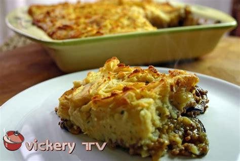 tasty cottage pie phil s vickery tv tasty cottage pie with aubergines and