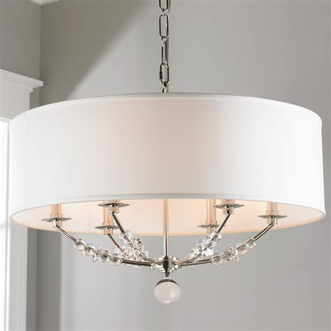 chandelier with shade and crystals modern bead shade chandelier large shades of light