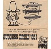 The Dodge Boys  Reed Brothers History 1915 – 2012