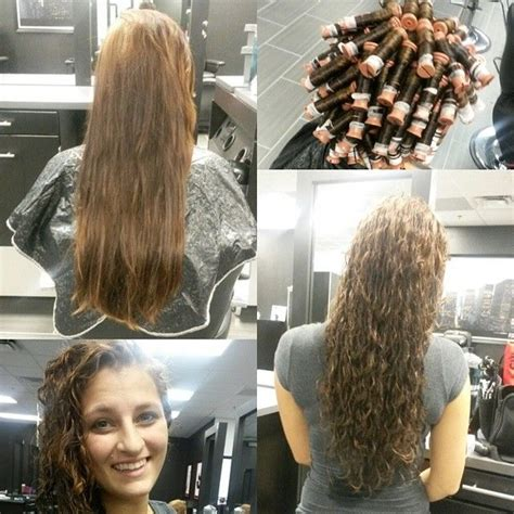 best salons to get a long spiral perm 135 best perms images on pinterest curly hair haircut