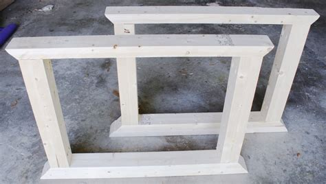 How To Make Table Legs by How To Build A Farmhouse Table