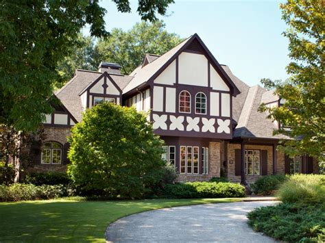 tudor revival style in syracuse home decorating trends stealable curb appeal ideas from tudor revivals hgtv