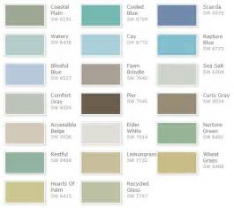 sherman william paint colors coastal paint colors neiltortorella