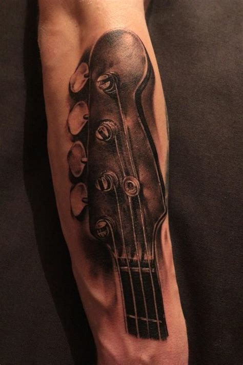 bass guitar tattoo designs bass guitar tattoos