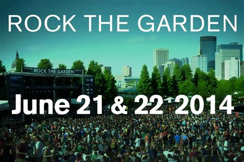 Rock The Garden Minneapolis Rock The Garden 2014 Save The Dates Minnesota Radio News