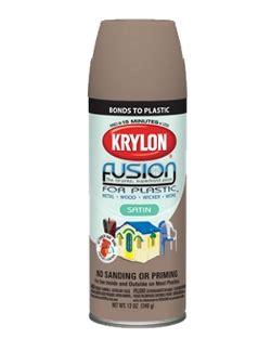 spray painting for plastic fusion for plastic 174 krylon