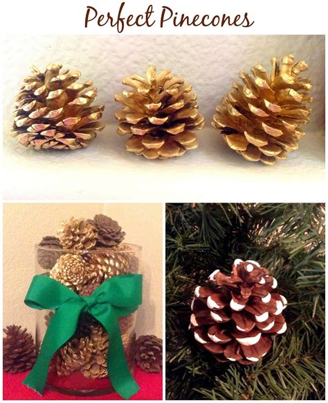 decorating with pinecones for hassle free decorating with pinecones