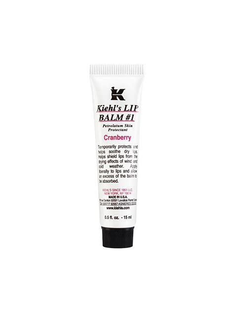 Kiehl S Cranberry Lip Balm kiehl s scented lip balm cranberry 15ml transparent