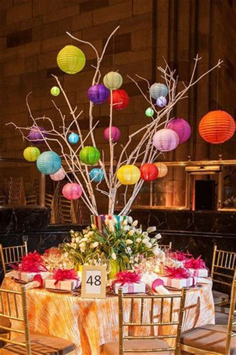 How To Make Paper Lantern Centerpieces - 975 best images about class reunions on