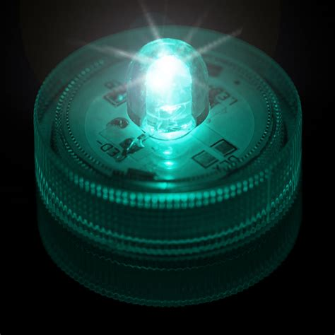 submersible led lights teal submersible led light