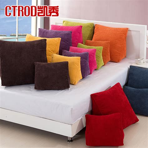 Sofas With Back Support by Trigonometric Ctrod Cushion Ofhead Thickening Kaozhen