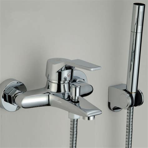 Modern Bathroom Tap Tub Shower Faucet Wall Mount Shower Bathroom Shower Heads And Taps